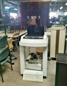 Onyx Roi Ram Optical Comparator Measurement System With Factory Stand On Wheels