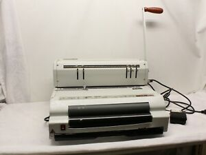 Akiles Coilmac 41 eci Electric Coil Binding Machine Punch W Foot Pedal