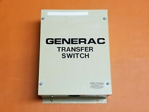 Generac Transfer Switch 100 Amp 250 Vac One Owner Used 71340 79848a