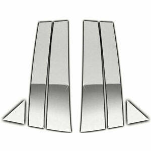 Chrome Pillar Post Covers For 2006 2010 Dodge Charger