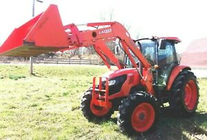 2012 Kubota M9960 Cab 4x4 Loader delivery 1 85 Per Loaded Mile