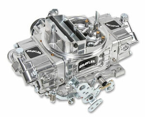 Holley Quickfuel 4 Barrell 600cfm Street Carburetor Electric Choke Double Pumper