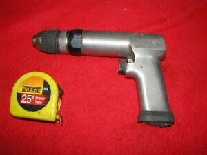 Air Drill 1 2 Snap On Made In Usa Key less Chuck Reversible Powerful