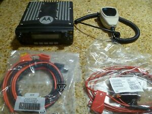 Motorola Xtl2500 P25 800 Mhz Two Way Radio W Extras M21urm9pw1an