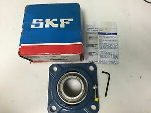 Skf Four Bolt Flange Mount Ball Bearing Unit Fy 1 3 4 Rm New