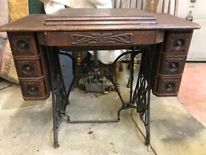 Antique Singer Treadle Sewing Machine Model 66