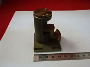 Vickers England Brass Stage Mechanism Microscope Part As Is 99 09