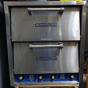 Bakers Pride Double Stack Pizza Oven Model P 44