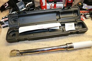 Snap On Tools Qd2r100a 3 8 Drive Torque Wrench 20 100 Ft Lbs In A Case