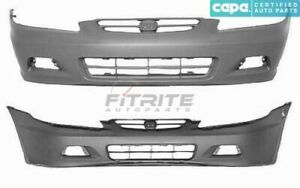 New Front Bumper Cover For 2001 2002 Honda Accord Ho1000195c 840304041343 Capa