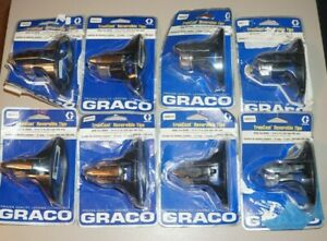 8 Graco Truecoat Reversible Sprayer Tip Xwd515 Wide Fan