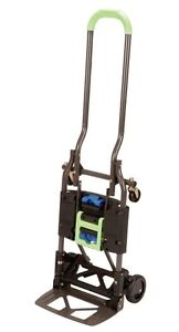 Multi position Heavy Duty Folding Hand Truck Dolly Easy Use Quick Conversion