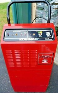 Robinair 17500 Refrigerant Recovery Recycling System R12 R22 R500 Need Gone