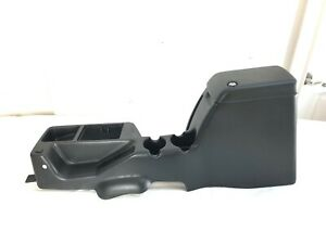 97 00 Jeep Wrangler Tj Full Center Console Arm Rest Storage Black Coin