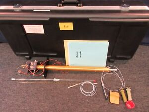 Varian Nmr Laboratory Lab Probe Shaft 500 Mhz 60ul Ifc Flow Resonance 0190642301