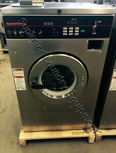 Speed Queen Scn030jc2 Washer extractor 220v 1ph Coin Reconditioned