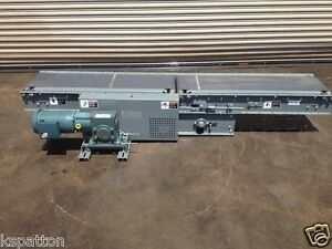 Never Used 16 Powered Case Metering Conveyor Mfg By Integrated