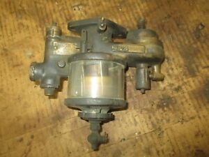 Stromberg B Number 4 Early Glass Bowl Carburetor Parts Only Antique Car