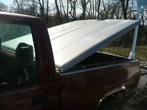 A r e Fiberglass Hard Tonneau Cover 88 98 Chevy 1988 1998 Short Bed C k1500