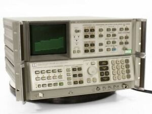 Hp 8566b Spectrum Analyzer 100 Hz To 22 Ghz With Display Option 85660b