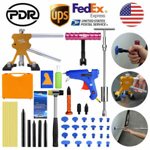 Pdr Car Body Paintless Hail Removal Dent Repair Lifter Puller Slide Hammer Tools