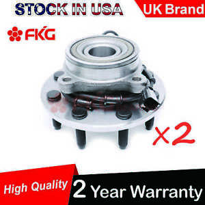 2 New Front Wheel Hub Bearing For 2003 2005 Dodge Ram 2500 3500 Abs 515061