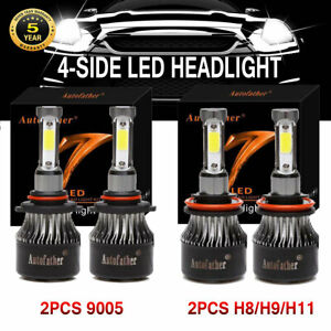 9005 H8 h9 h11 Led Headlight Hi Lo Beam For 9145 9140 For Ford F 150 2015 2018