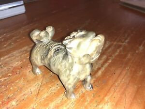 Antique Jade Foo Dog Hand Carved Chinese Export