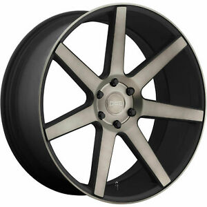 22x9 5 Black Tint Wheel Dub Future S127 6x135 30