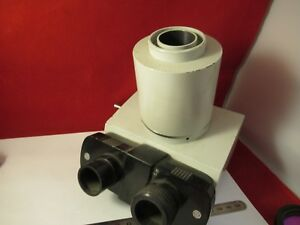 Vickers England Uk Trinocular Head Optics Microscope Part As Pictured
