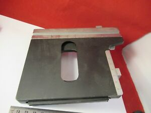 Leitz Germany Stage Table Specimen Microscope Part As Pictured 39 a 08