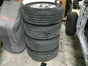 2019 Dodge Ram 1500 18 Factory Oem Alloy Wheels Tires