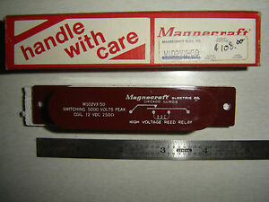 Relay High Voltage 5kv Contacts 12v Coil Nib W102vx 50 Struthers Dunn Magnecraft