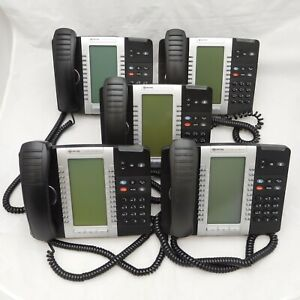 Lot Of 5 Mitel 5340 Ip Business Phones 50005071 Fully Tested Factory Reset