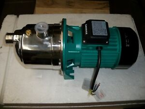 Water Pump Stainless Steel 1 Hp 22 Gpm 56 Psi 220v 3phase Shimge Jets750g1