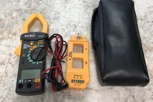 Extech 380975 True Rms Ac Clamp Meter W Line Splitter