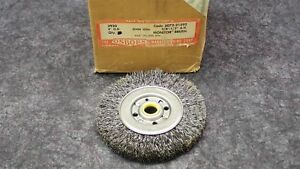 Osborn 4 Monitor Wheel 0104 Crimped Wire Brush 5 8 1 2 A h P n 21592 Qty 4