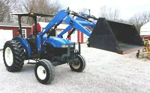 New Holland Tn 65 Tractor With Loader low Hrs free 1000 Mile Delivery