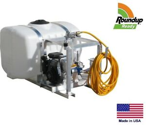 Sprayer Commercial Skid Mounted 7 Gpm 100 Gallon Tank Roundup Ready