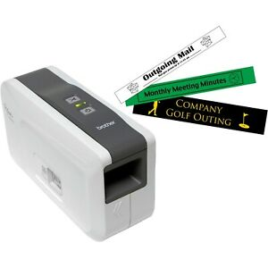 Brother P touch Pt 2430pc Pc connectable Label Maker W Auto Cutter
