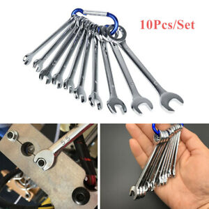 10pcs Set Combination Wrench Spanner 4 11mm Metric Small Engineer Spanner Great