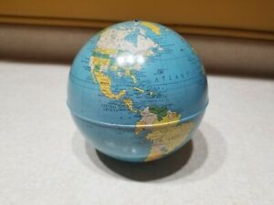 Vtg Replogle Metal Simplified 6 Globe Only No Stand