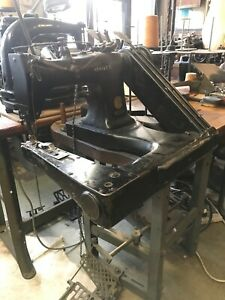 Vintage Singer 231 8 Feed Off Arm Chainstitch Industrial Sewing Machine