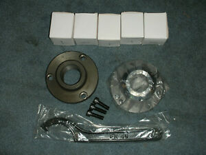 Atlas Craftsman South Bend Logan Lathe Er 40 Collet Chuck Set 1 1 2 8 Mount New