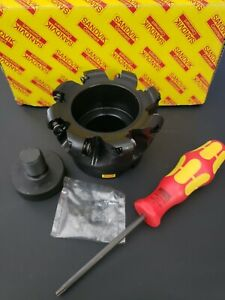 New Sandvik Indexable Face Mill Profile Cutter Ra300 102r38 16h 4 Dia Coromill