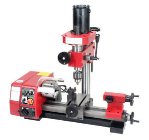 M1 Lathe Machine Multi function Drilling Milling Lathe Machine 220v