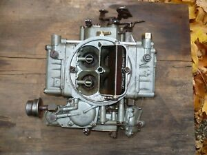 Holley 4bbl Carburetor Core Parts