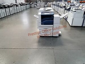 Xerox Workcentre 7845 Color Copier Printer Scanner With Stapling Finisher