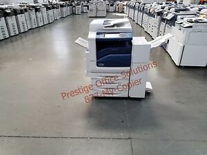 Xerox Workcentre 7835 Color Copier Printer Scanner With Stapling Finisher