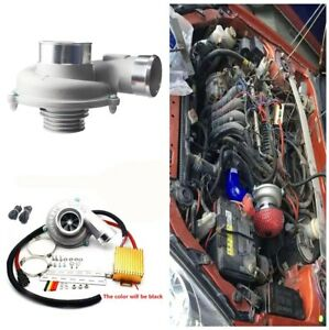 Electric Turbo Supercharger Thrust Car Motorcycle Turbocharger Air Filter Intake
